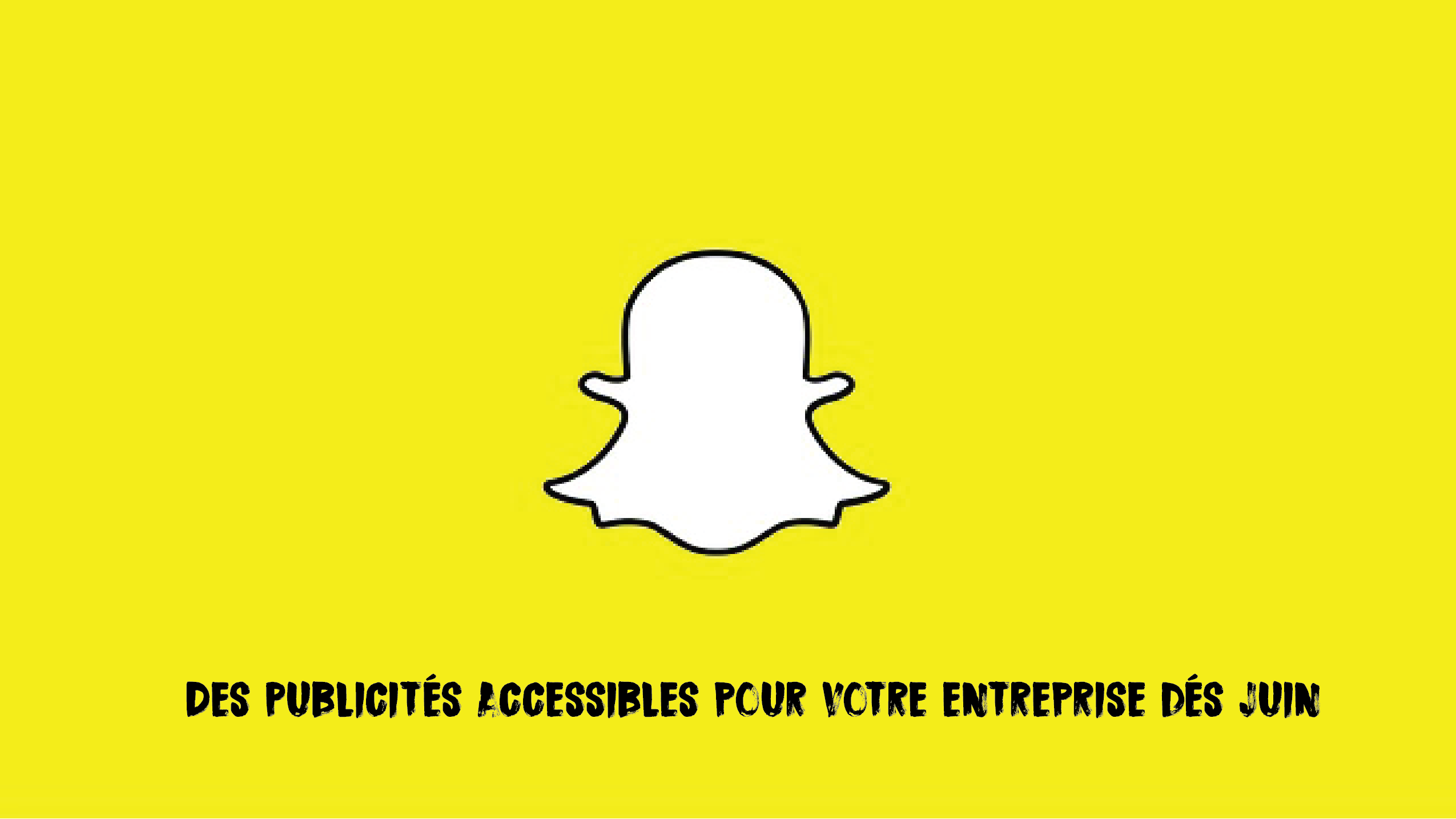 Snapchat Ads : les publicités accessibles dés Juin