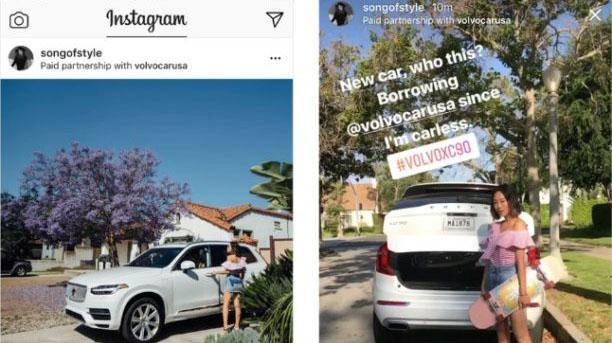 Instagram Voiture