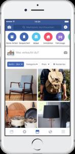 Facebook marketplace arrivé en france