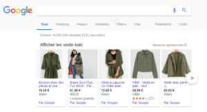 Site e commer : Comment utiliser google shopping